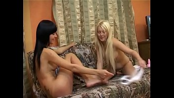 Playing with sex toys was never so fun for teen lesbian hotties