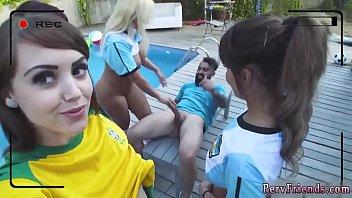 Dutch teen orgy America's Cup