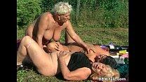 Horny mature lesbians enjoying in wet