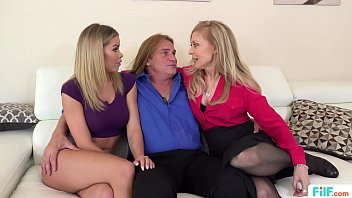 FILF  - Jessa Rhodes' stepparents Evan Stone And Nina Hartley invading her for the weekend