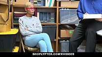 ShopLyfter - Ebony Teen (Arie Faye) Caught Stealing Fucked by LP Officer
