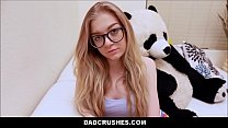 Young Nerdy Step Daughter Jadyn Hayes Sex With Step Dad For Not Telling Mom About Getting Suspended From School