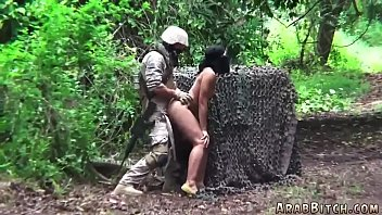 Muslim girl fucked by Army