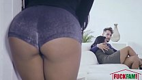 FamilyStrokes - Hot Latin Twins Compete For Cock