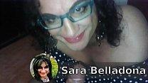 Sarah Belladona mamando verga de Pepito Grillo