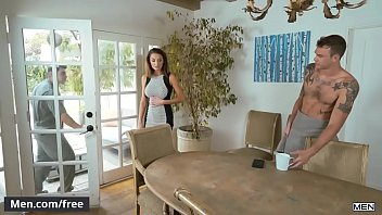 Men.com - (Cliff Jensen, Jeremy Spreadums) - Desperate Househusband Part 1 A Gay Xxx Parody - Str8 to Gay - Trailer preview