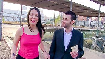LAS FOLLADORAS - Sexy Spanish pornstar Liz Rainbow picks up and fucks lucky amateur dude
