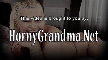 Chubby granny mouthful 6 min