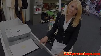 Classy MILF pawnee fucked and facialized
