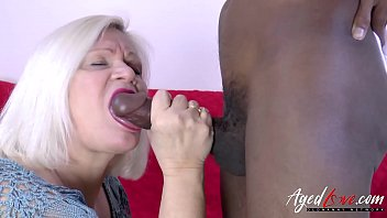 AgedLovE Lacey Starr and Black Guy Hardcore