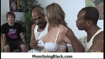 Watch my mom going black - video 18