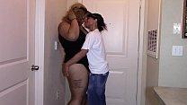 First sexual encounter with sexy ebony latina bbw (interracial) 60 min
