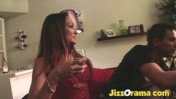 Hot Milf Fucks her Son's Friend