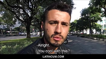 Young Straight Guy From Brazil Paid Cash To Fuck Gay Stranger On Camera POV
