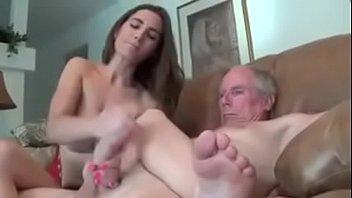 Young girl handjob
