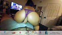 Big Booty Latina Time Of His Life Riding His Hairy Cock POV Amateur Couple