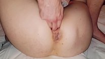 Amateur milf squirts for her second time. Body shaking included