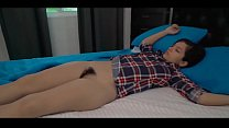 Sweet Teen Caught by Dad in Bed Anikka Eve 6 min