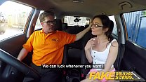 Fake Driving School Hot Italian nympho minx Valentina Bianco craves cock 8 min