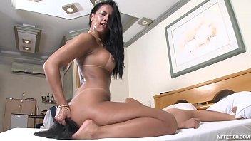 Cruel Face Fucking with Nanda Rios - Cold-Blooded Brazilian Domina