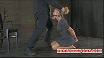 Slaves are in a Pervert Submission - Bond, Cane and Cook Sucking