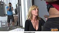 My hot mom going black 28