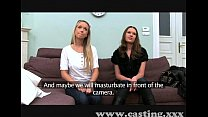 Casting Two Hot Russians part 1