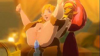 Urbosa fucks Zelda (BOTW fan animation)