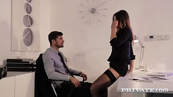 Private.com - Gorgeous secretary Barbara Bieber fucks her boss
