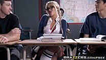 Naughty school girl (Alexis Monroe) gets spanked and  ass fucked - Brazzers