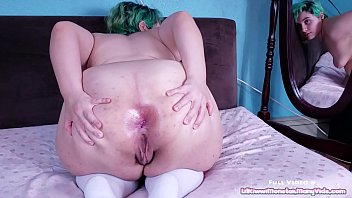 Anal Gape Adventures 2 - Buttered anal fisting and gaping with my HUGE toy!