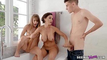 Lisa Ann and Kimmy Granger share Jordi's dick