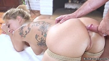 Bdsm couple riching sex life with anal