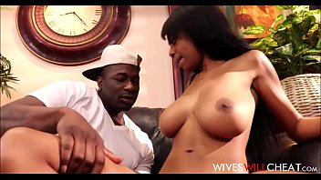 WOW Hot Black Teen Wife With Big Natural Tits Brittney White Cheats On Husband With Restaurant Waiter After Husband Cancels