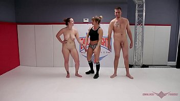 Busty MILF Bella Rossi challenges Max Blunts in an all out wrestling match