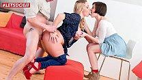 LETSDOEIT - Kinky Photographer Fucks Step Mom and Daughter