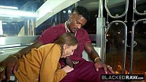 BLACKEDRAW Brunette Babe Gets Fucked Senseless By Dominant BBC