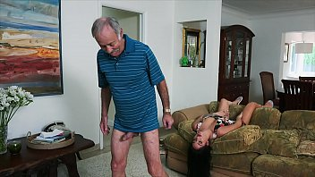 BLUE PILL MEN - We Get Old Man Johnny An Escort (Aria Rose) To Fulfill His Depraved Fantasies
