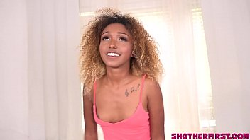Shot Her First Porn video for young Kikki Star