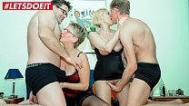 LETSDOEIT - German Matures Share Their Hubbies Cocks