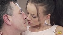 OLD4K. Unforgettable old and young love scene makes both satisfied