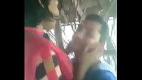 Bengali Girl boobs pressing