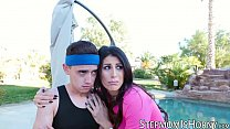 Stepmom Makayla Coxxx craves for BBC and gets it in the ass
