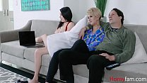 FUCKING DAUGHTER WHILE WIFEY s.