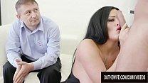 Busty German Wife Ashley CumStar Shows Cuckold Hubby How Slutty She Can Be