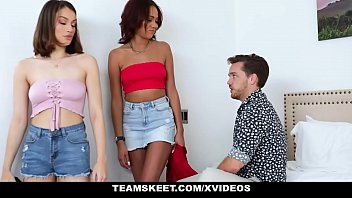 StepSiblings - Wild Step Sisters (Liv Wild) (London Tisdale) Ride Their Stepbro's Dick