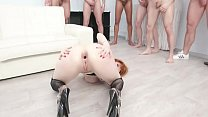 10on1 TP Gangbang with Lauren Phillips with Balls Deep Anal, DAP, TP, Gapes, Facial GIO978