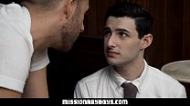 MormonBoyz - Horny Priest Punishes A Young Missionary's Butthole