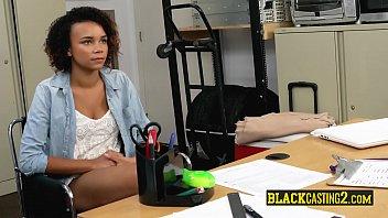Black teens ride gigantic cocks