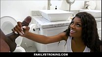 Sexy Young Black Teen Step Daughter Fucked By Her Black Step Dad